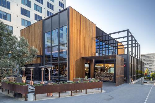 Otium Restaurant At The Broad Museum Plaza House